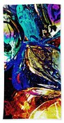 Glass Abstract 687 Beach Towel