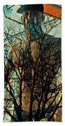 Glass And Branches  Beach Towel