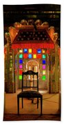 Glass And Mirror Room City Palace Udaipur Beach Towel