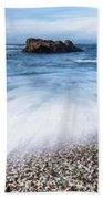 Glass Beach Beach Towel