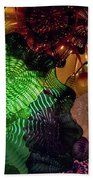 Glass Explosion Beach Towel