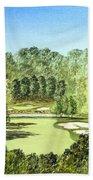 Glen Abbey Golf Course Canada 11th Hole Beach Towel