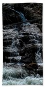 Glen Alpine Falls 8 Beach Towel