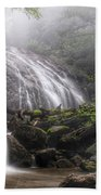 Glen Burney Falls Beach Towel