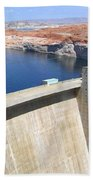 Glen Canyon Dam Beach Towel