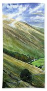 Glen Gesh Ireland Beach Towel
