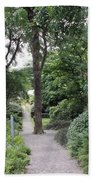 Glenveagh Castle Gardens 4305 Beach Towel