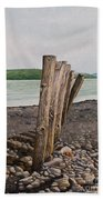Glin Beach Breakers Beach Towel