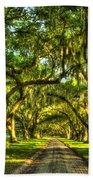 Glorious Entrance Tomotley Plantation South Carolina  Beach Towel