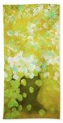 Glorious Flowers Beach Sheet