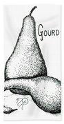 Glorious Gourds Beach Towel