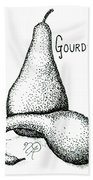 Glorious Gourds Beach Sheet