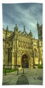 Gloucester Cathedral  Beach Towel