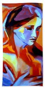 Glow From Within Beach Towel