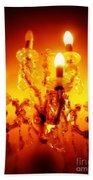 Glowing Chandelier Beach Sheet
