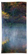 Glowing Cypresses Beach Towel