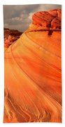 Glowing Desert Dragon Beach Towel