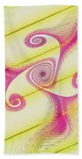 Gnarly Spiral Beach Towel