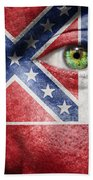 Go Mississippi Beach Towel