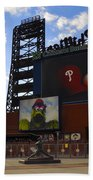 Go Phillies - Citizens Bank Park - Left Field Gate Beach Towel