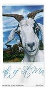 Goats Of St. Maarten- Andre Beach Towel