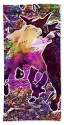 Goats Wildpark Poing Young Animals  Beach Towel