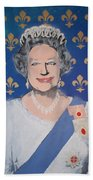 God Save The Queen Beach Towel
