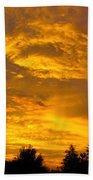 God Says Good Night Beach Towel