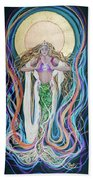 Goddess Of Intention Beach Sheet