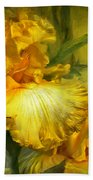 Goddess Of Summer Beach Towel