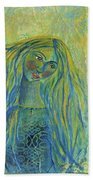 Goddess Of The North Sea Beach Towel
