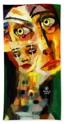 Goddess With Many Faces 671 Beach Towel