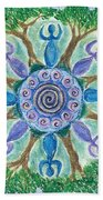 Goddesses Dancing Beach Towel