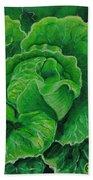 God's Kitchen Series No 5 Lettuce Beach Towel
