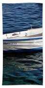 Going With The Flow Beach Towel