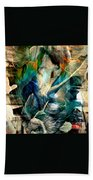 'going Within' Beach Towel