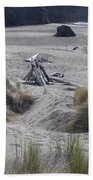 Gold Beach Oregon Beach Grass 18 Beach Towel