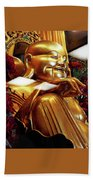 Gold Buddha 5 Beach Towel