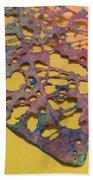 Gold Leaf 1 Beach Towel