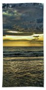 Gold Skies Beach Towel