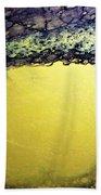 Gold Underground Beach Towel