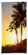 Golden Beach Tropics Beach Towel