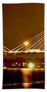 Golden Bridge Beach Towel