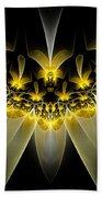 Golden Daffodils Beach Towel
