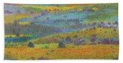 Golden Dakota Day Dream Beach Towel