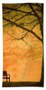 Golden Dawn Beach Towel