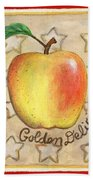 Golden Delicious Two Beach Towel