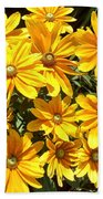 Golden Eyed Susans Beach Towel