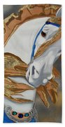 Golden Fantasy Beach Towel