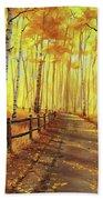 Golden Forest Beach Sheet